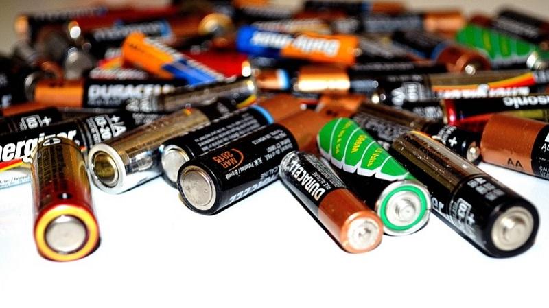 dispose of batteries california
