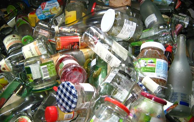 Glass recycling center near me